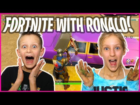 Playing Fortnite with Ronald!