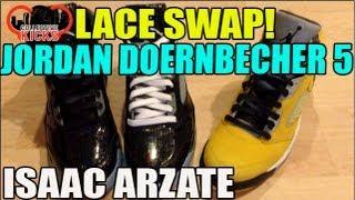 Lace Swap: Jordan Doernbecher 5 Alternate Laces & Tokyo 5