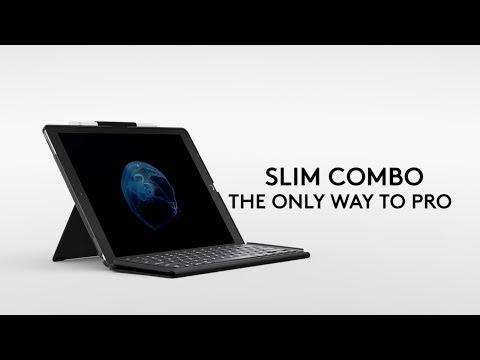 Logitech Slim Combo Keyboard Case for iPad Pro