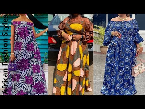 African Fashion: Ankara Maxi Dress    Most Delightful and Classy Ankara Maxi Dress Styles (2021)