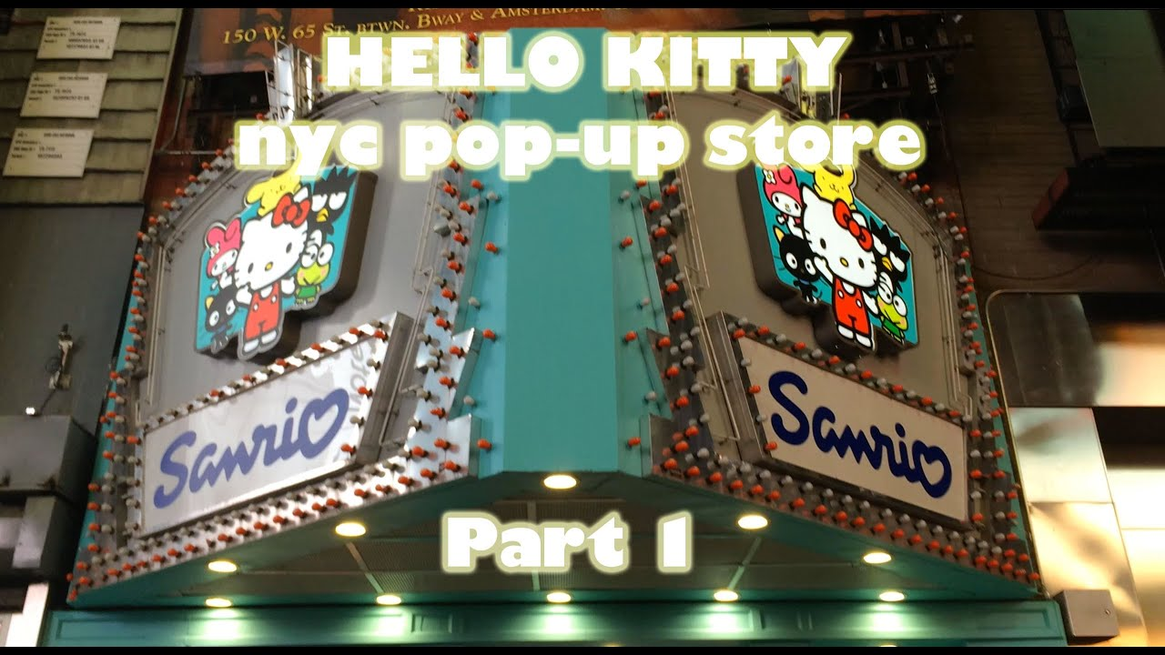 7bedf8d53 Hello Kitty Pop-up Store NYC - Part 1 - YouTube