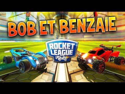 Fanta et Bob - Ep.14 : BENZAIEBOBGAMES !!! - COOP sur Rocket League (avec Benzou)