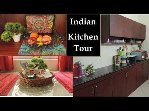 How To Organize SMALL Kitchen | My kitchen tour | Indian Kitchen Organization