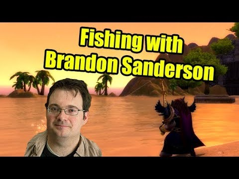 Fishing with Crendor Ep 33: Brandon Sanderson (Fantasy Author)