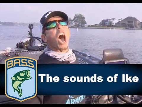 Iaconelli howls, sings and grunts at the Bassmaster Classic