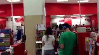 @Target on a Friday night...