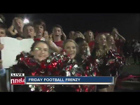 Friday Football Frenzy pep rally at Cardinal Ritter High School