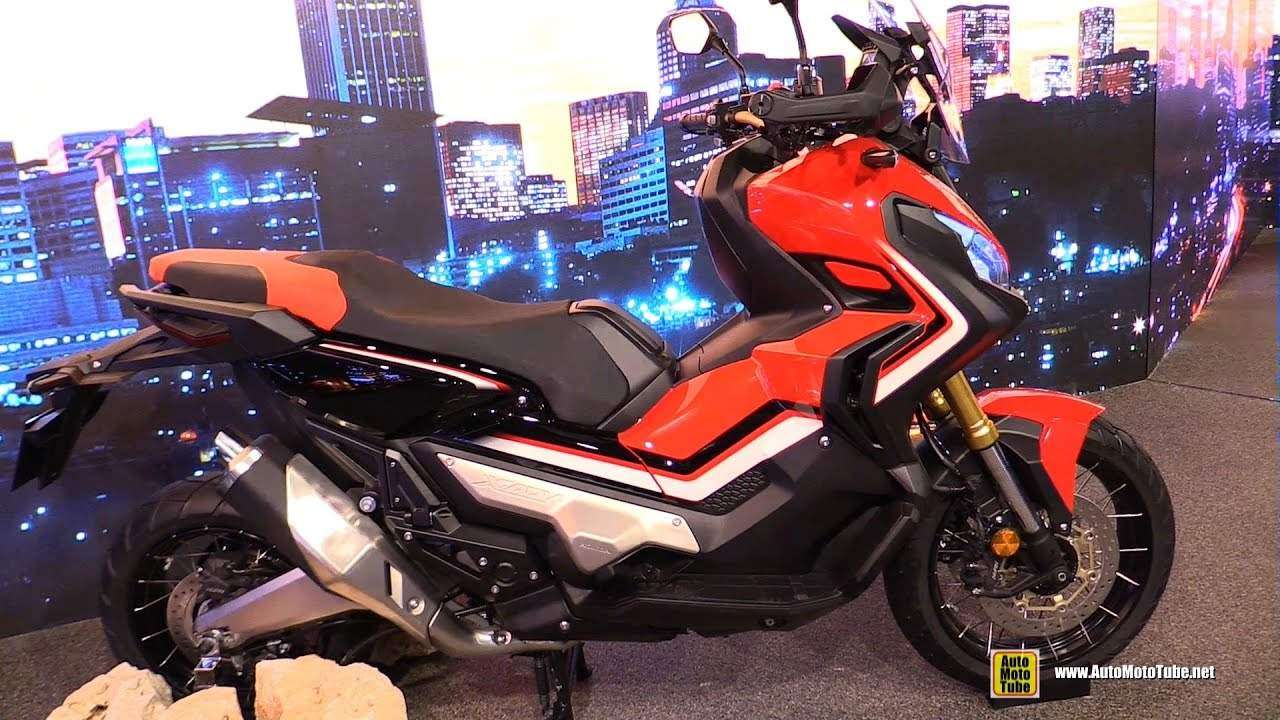 2017 honda x adv 750 maxi scooter walkaround debut at 2016 eicma milan youtube. Black Bedroom Furniture Sets. Home Design Ideas