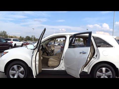 2012 Acura MDX Palatine, Arlington Heights, Barrington, Glenview, Schaumburg, IL 34939A