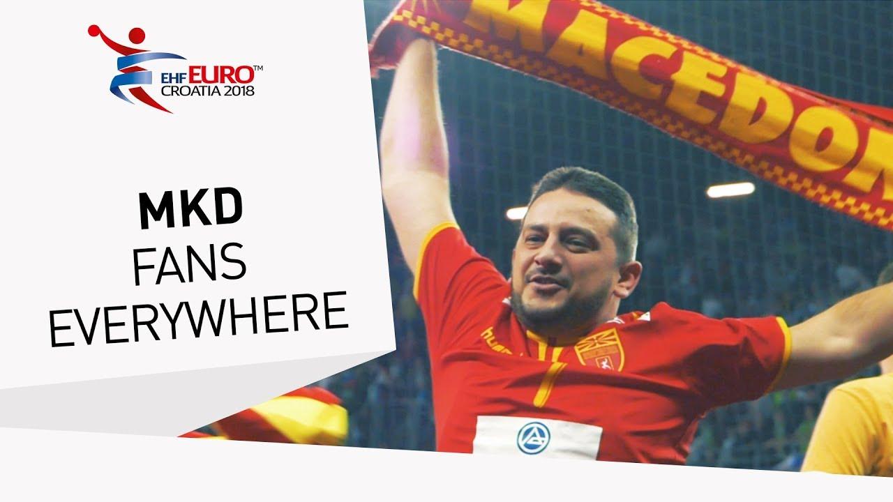 Браво македонски навивачи   европската ракометна федерација направи прекрасно видео