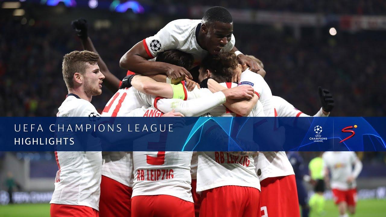 UEFA Champions League | RB Leipzig v Tottenham Hotspur F.C. | Highlights