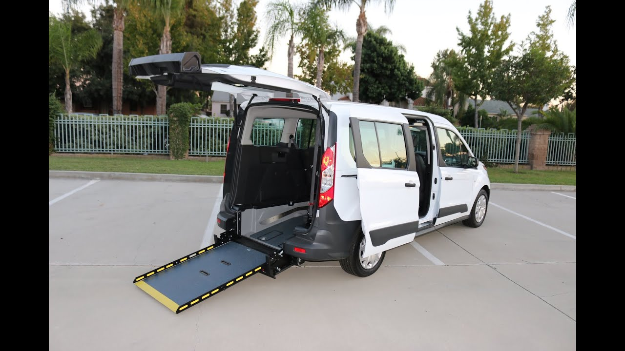 Ford Transit Connect Wheelchair Access Van by Sunset Vans Rear