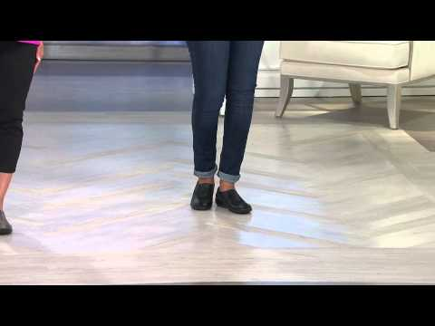 Clarks Leather & Nubuck Shoes - Bingo With Sandra Bennett
