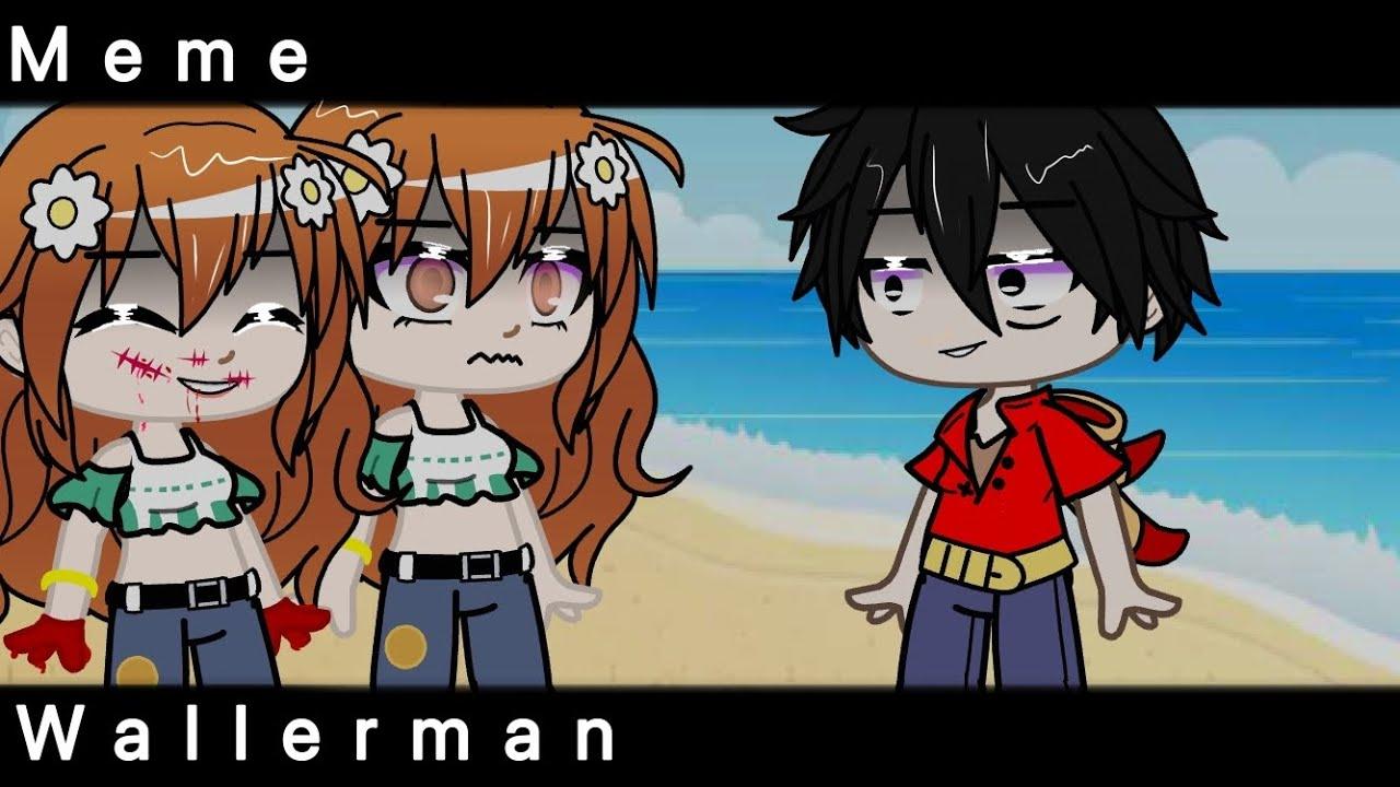 Meme wallerman👺☝🏿 Nami & Luffy.     One Piese