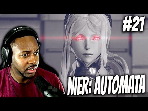 Nier Automata : The Real Game Begins! SPEECHLESS!! [P21]