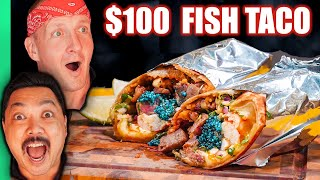 Chef Calvin's $100 Fish Taco!! Chefs UPGRADE Mexican Food!! | FANCIFIED Ep 2