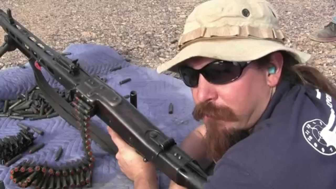 Shooting the MG-34 and MG-42 – Forgotten Weapons