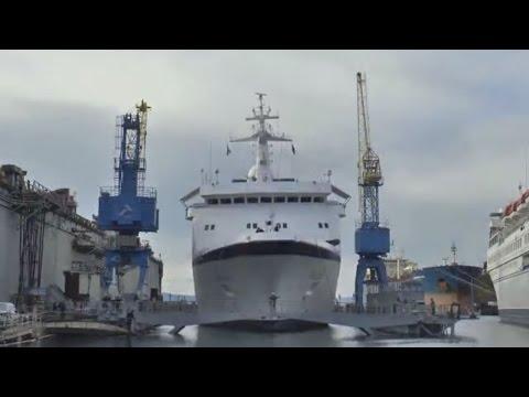 Werftaufenthalt der MS Berlin 2015