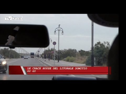 "Dossier ""Le crack house del litorale domitio"" - TV Luna 22/10/2017"