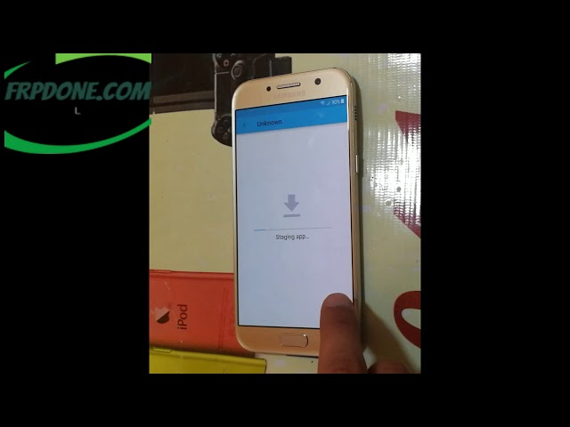 How to remove frp a520f u7 bypass a5 2017 version 8 without pc – frp