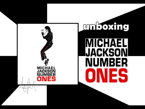 CD MICHAEL JACKSON NUMBER ONES - UNBOXING