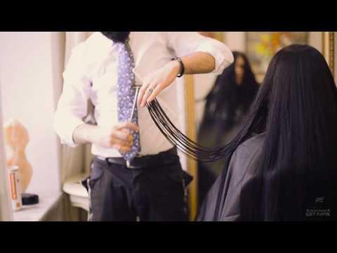 Стрижка на ОЧЕНЬ длинные волосы