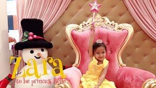 Gambar cover Zara - to be Princess Belle (beauty and the beast) 😍 suatu hari di AEON Mall