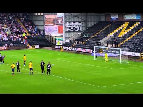 Derby Co penalty vs Notts Co 19.07.14