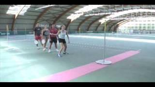 L'épreuve du relais au Speed-Ball