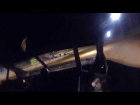 04-01-17 Jonathan Sarratt Power Sliding at Cherokee Speedway