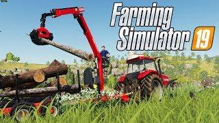 Epic Logging Skills? - Farming Simulator 19 Gameplay - Ravenport