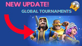 Clash Royale Global Tournaments UPDATE