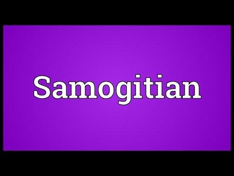Samogitian Meaning