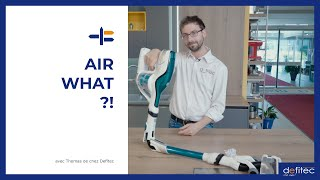 Qu'est ce que les Airwatts ? Explication avec un aspirateur balai sans fil Rowenta