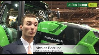[Sima] Tracteur 6215 RCshift : le pitch de Deutz-Fahr