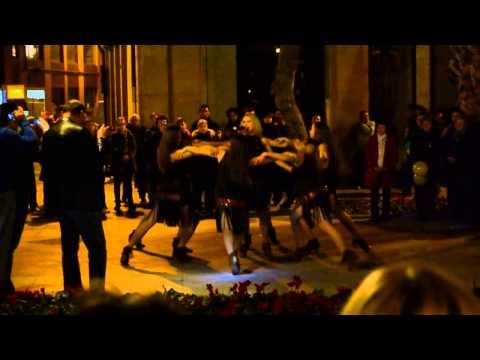 Роксолана Дикі танці Євромайдан м Мурсія Іспанія