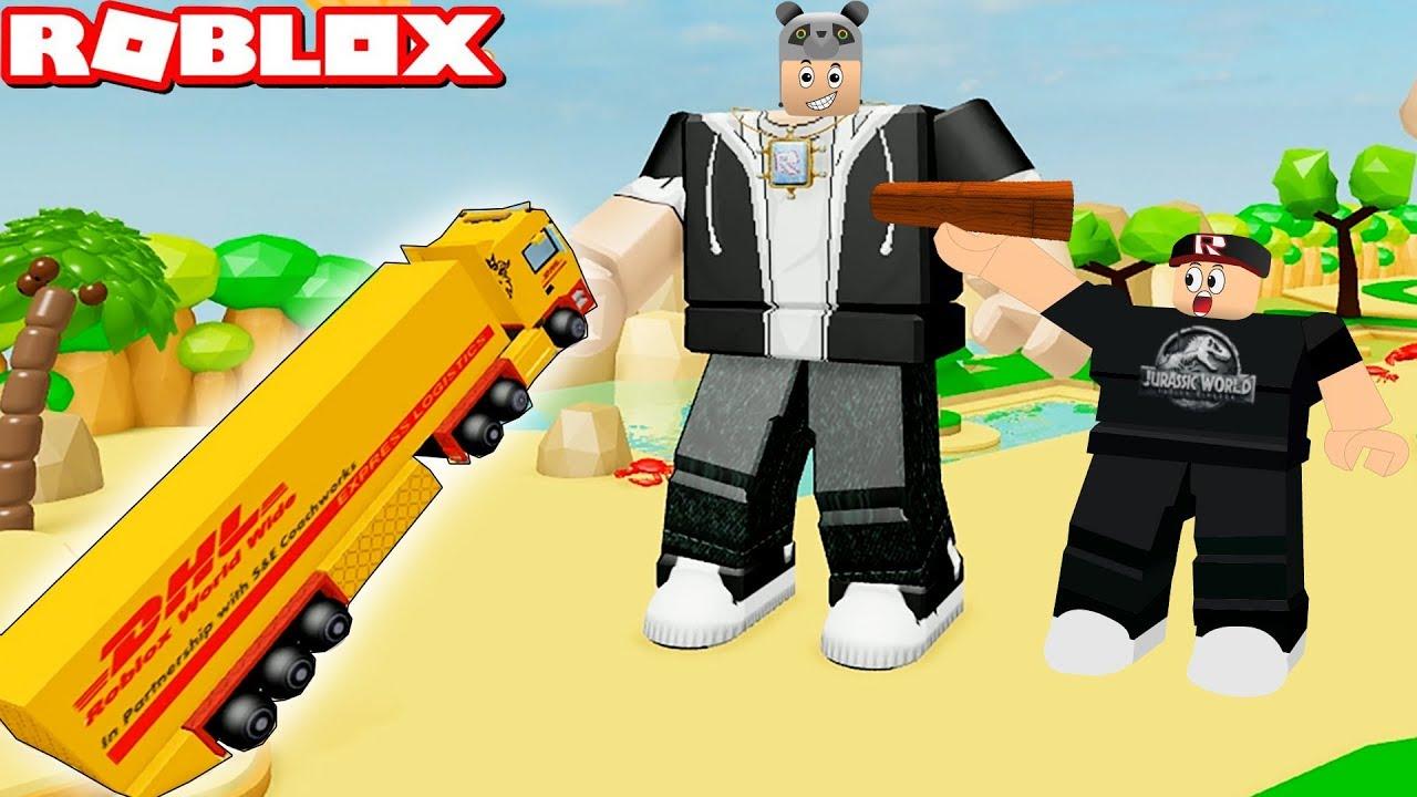 En Ağır Kamyonu Kaldırdım! En Pahalı Eşyaları Aldık - Panda ile Roblox Lifting Simulator
