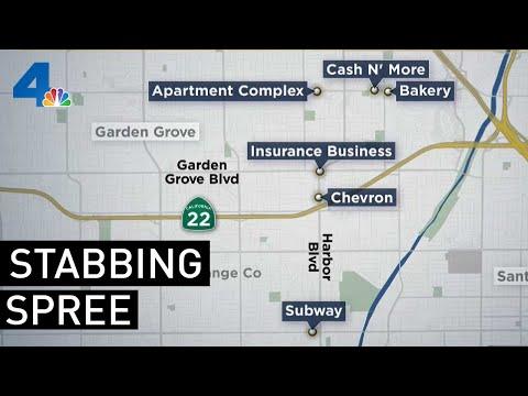 Man Arrested After Orange County Stabbing, Killing Spree | NBCLA