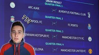 Moje predviđanje za Četvrtinu finala Lige Šampiona