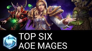 HotS Top 6 AOE Heroes - Best Mages in Heroes of the Storm