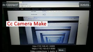 Make Cc Camera by Using Android Phone Camera । Security Camera Make by Mobile । Wireless IP Camera