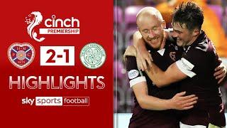 Hearts strike late to stun Celtic! | Hearts 2-1 Celtic | Scottish Premiership Highlights