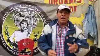 """Rubèn """"El Pùas"""" Olivares en La Lagunilla vende su cinto de Campeòn Mundial"""