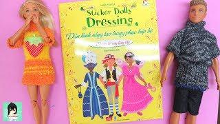 Sticker Dolly Dressing books Ami Channel