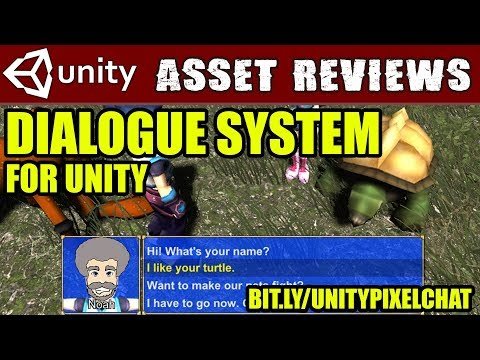 Unity Asset Review - PixelCrushers Dialogue System (50% Sale)