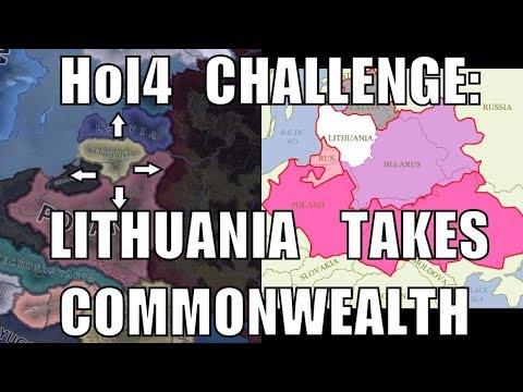 Hearts of Iron 4 Challenge: Lithuania retakes the Polish-Lithuanian Commonwealth
