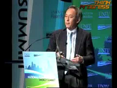 Dr. Steven Chu at the National Clean Energy Summit