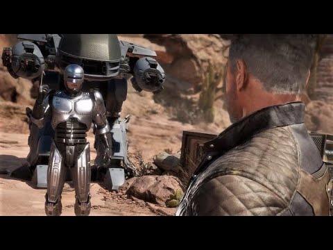MK11 : Robocop vs Terminator Intro Dialogues & Outro - YouTube