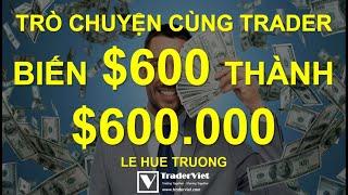 Trò Chuyện Cùng Trader Nổi Tiếng Biến $600 Thành $600.000 Trong 6 Năm Nhờ Giao Dịch Thuật Toán!