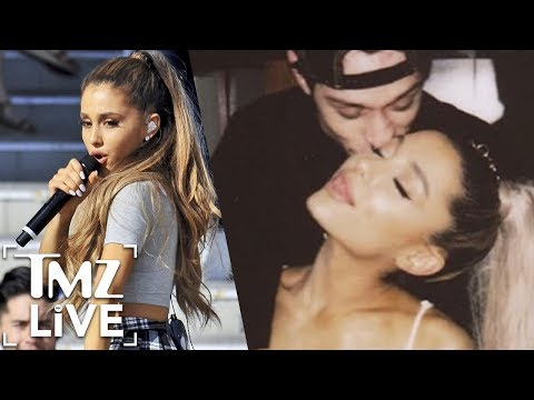 Ariana Grande's Engagement Ring Is Incredible! | TMZ Live